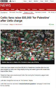 BBC News website promotes anti-Israel activists' fund raising
