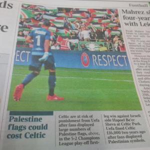BBC Sport 'overlooks' BDS linked agitprop in Glasgow