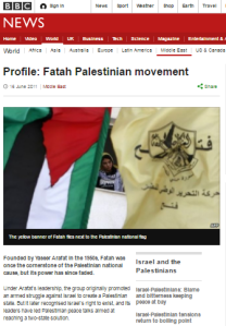 BBC News ignores Fatah Day rallies as usual
