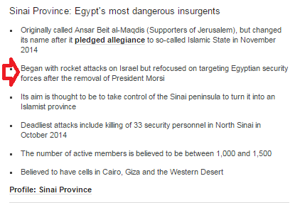 BBC does a makeover on Sinai ISIS group's language yet again