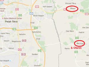 map beit arye