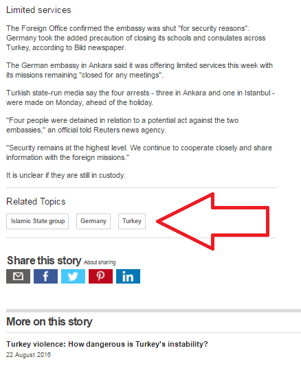 BBC News website introduces tagging