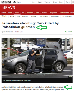 BBC headlines for same story differ according to target audiences