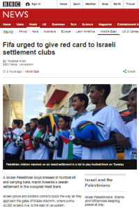 BBC amplified NGO promotes another Israel delegitimisation campaign