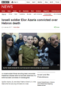 BBC promotes political NGO in coverage of Azaria verdict