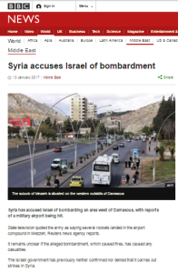In which BBC News manages to avoid Syrian propaganda for a change