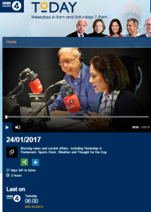 Comparing BBC R4 'Today' interviews with two Israeli MKs – part two