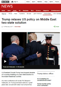 BBC News website's explanation of the two-state solution falls short