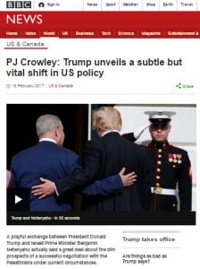 More narrative driven BBC portrayal of the 'peace process'