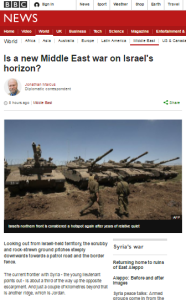 BBC reports from Golan Heights omit basic context