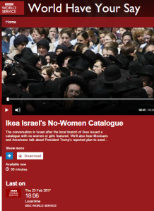 BBC WS 'World Have Your Say' misleads on Israeli buses