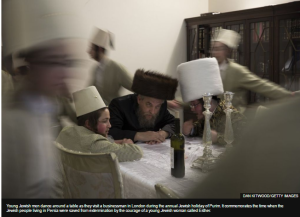 BBC's 'In Pictures' portrayal of Purim