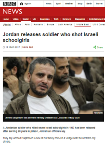 Superficial BBC News report on Naharayim killer's release