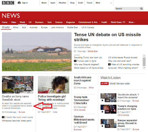 BBC's vehicular terrorism double standards on display again