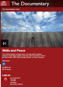 BBC WS programme on anti-terrorist fence promotes inaccurate information