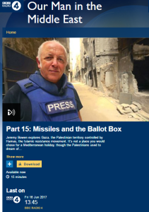 In which the BBC's Jeremy Bowen repeats his 'no human shields in Gaza' claims