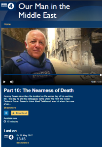 BBC's Bowen tells his annual Lebanon story on Radio 4