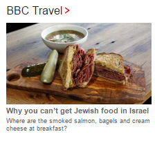 BBC Travel politicises food to promote a narrative