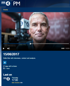 Superficial BBC Radio 4 reporting on Qatar funding of Hamas