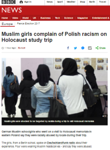 BBC News website removes offensive statement after complaints