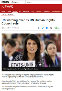 BBC fails (again) to give audiences the full story in UN HRC article