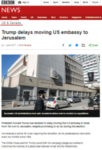 BBC's new US embassy relocation report recycles old themes