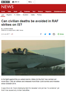 Comparing two BBC journalists' conversations with British and Israeli pilots
