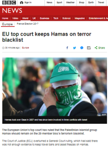 BBC report on ECJ Hamas terror ruling recycles old themes