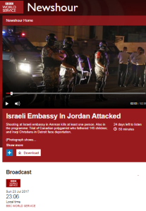 BBC WS ME editor gives a partial portrayal of the Temple Mount story