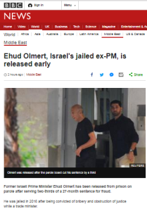 The prison story from Israel the BBC chose to report – and one it didn't