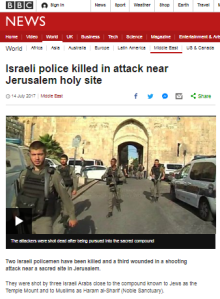 Why the BBC's failure to cover faux outrage in Jerusalem matters in the UK