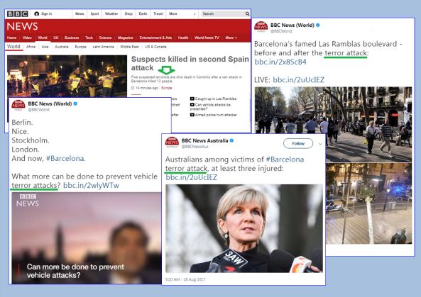 BBC bias on terrorism highlighted again in reports from Spain