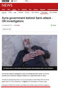 Despite evidence, the BBC won't let go of Assad propaganda