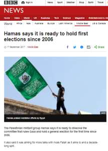 Superficial BBC reporting on Hamas-Fatah 'unity' returns