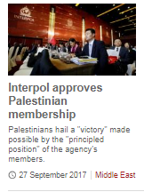 Facile BBC News report on PA's Interpol membership
