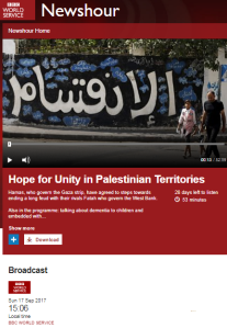 The BBC World Service's Hamas-Fatah 'unity' binge – part one