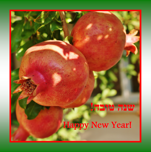 Shana Tova – Happy New Year!