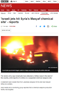 BBC News amplification of unchallenged Assad propaganda persists