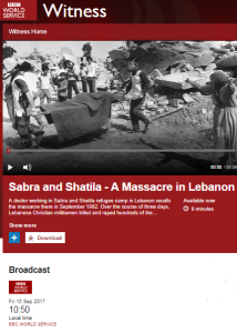 BBC WS history programme fails to disclose interviewee's anti-Israel activism