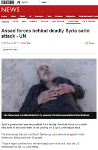 BBC News website tones down Assad regime propaganda