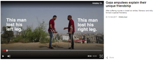 BBC promotes context-free report on injured Gazans