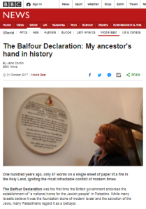 BBC's Corbin sidesteps prime issues in Balfour reports – part two