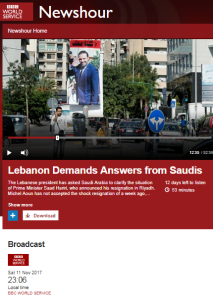 BBC WS radio listeners get unchallenged Hizballah messaging – part two