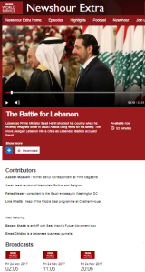 BBC's Newshour Extra listeners get a partisan 'explanation' of Hizballah