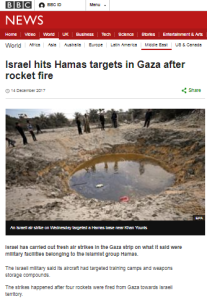 Correction secured to inaccurate BBC News website claim about Gaza attacks