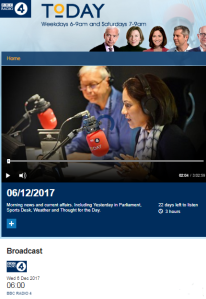 Comparing two BBC Radio 4 'Today' interviews – part two