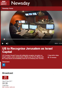 Inaccuracies and distortions go unchallenged on BBC WS 'Newsday' – part one