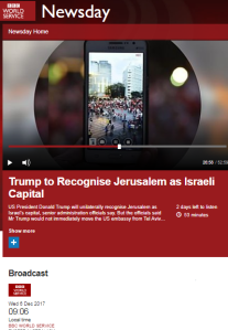 Inaccuracies and distortions go unchallenged on BBC WS 'Newsday' – part two