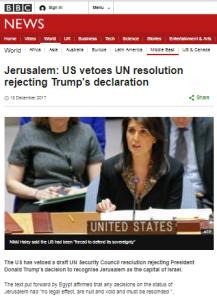 BBC News still promoting information on Jerusalem from partisan NGOs