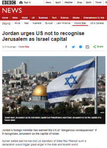 BBC continues to amplify a political narrative on Jerusalem